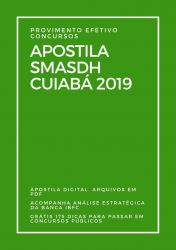 Apostila Cuidador Social SMASDH Cuiabá 2019