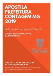 Apostila CONTADOR Prefeitura Contagem 2019