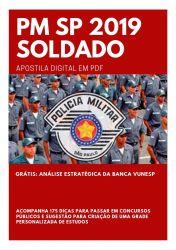 Apostila PM SP Soldado Polícia Militar SP 2019