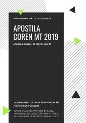 Apostila Enfermeiro Fiscal COREN MT 2019