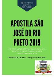 Apostila Médico do Trabalho Prefeitura São José Rio Preto 2019