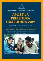 Apostila Assistente de Gestão Pública Prefeitura Guarulhos 2019