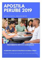 Apostila Nutricionista Prefeitura de Peruíbe 2019