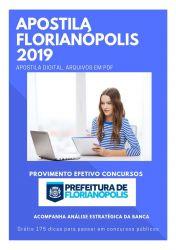 Apostila Farmacêutico Prefeitura Florianópolis 2019