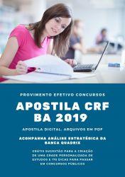 Apostila Assistente Técnico Administrativo CRF BA 2019