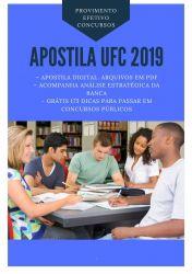 Apostila Assistente em Administração UFC 2019