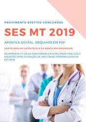 Apostila FARMACÊUTICO SES MT 2019