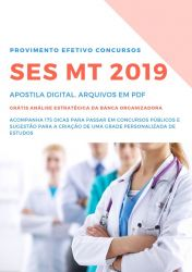 Apostila PSICÓLOGO SES MT 2019