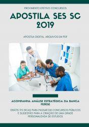 Apostila Técnico em Atividades Administrativas SES SC 2019