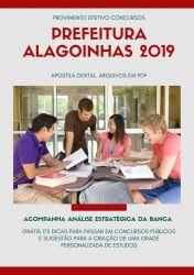 Apostila Engenheiro Sanitarista Prefeitura Alagoinhas 2019