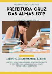 Apostila Nutricionista Prefeitura Cruz das Almas 2019
