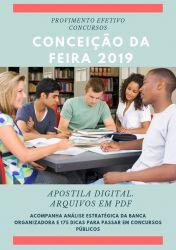 Apostila Médico Plantonista Conceição da Feira 2019