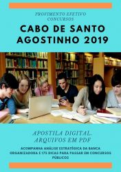 Apostila Fonoaudiólogo Cabo Santo Agostinho 2019