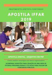 Apostila NUTRICIONISTA IFFar 2019