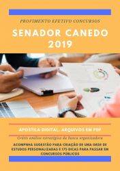 Apostila Farmácia Prefeitura Senador Canedo 2019