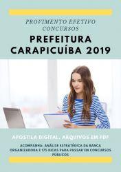 Apostila Fonoaudiólogo Prefeitura Carapicuíba 2019