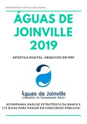 Apostila Analista Econômico Financeiro Águas de Joinville 2019