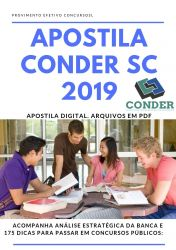 Apostila Engenheiro Civil CONDER SC 2019