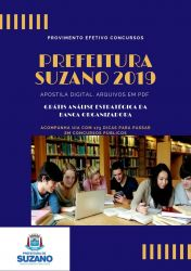 Apostila Agente Fiscal de Obras Prefeitura Suzano 2019