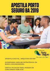 Apostila Técnico em Enfermagem Prefeitura Porto Seguro 2019