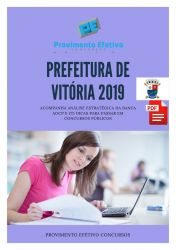 Apostila Nutricionista Prefeitura Vitória 2019