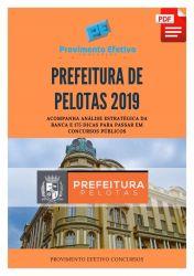 Apostila Oficial Administrativo Prefeitura Pelotas 2019