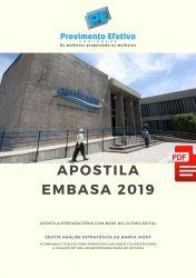 Apostila Enfermeiro do Trabalho EMBASA 2019 - Analista de Saneamento