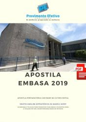 Apostila Técnico Segurança do Trabalho EMBASA 2019 - Assistente de Saneamento