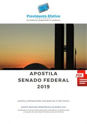 Apostila Administração Senado Federal 2019 - Analista Legislativo