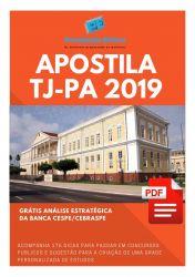 Apostila Auxiliar Judiciário TJ PA 2019