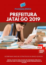 Apostila Auxiliar de Saúde Bucal Prefeitura Jataí GO 2019