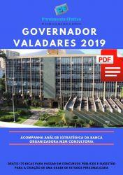 Apostila Engenheiro Mecânico Prefeitura Governador Valadares 2019