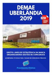Apostila Oficial Administrativo DMAE Uberlândia 2019