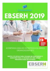 Apostila Psicólogo Organizacional EBSERH Nacional 2019