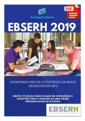 Apostila Técnico em Contabilidade EBSERH Nacional 2019