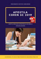 Apostila Contador COREN SC 2019