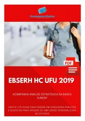 Apostila Fonoaudiólogo EBSERH HC UFU 2019