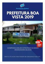 Apostila Assistente Social Prefeitura Boa Vista 2019