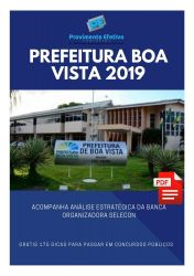 Apostila Médico Clínico Geral Prefeitura Boa Vista 2019