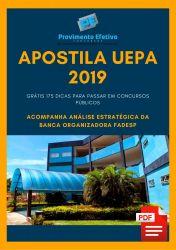 Apostila Agente Administrativo UEPA 2019