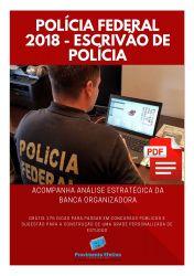 Apostila Polícia Federal 2018 - Escrivão de Polícia