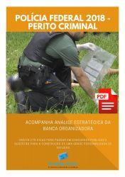 Apostila Polícia Federal 2018 - Engenharia Eletrônica/ Telecomunicações - Perito Criminal - Área 02.