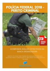 Apostila Polícia Federal 2018 - Ciências Contábeis - Perito  Criminal - Área 01.