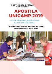 Apostila NUTRICIONISTA UNICAMP 2019