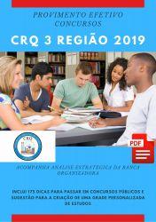 Apostila Técnico Administrativo CRQ 3 Região 2019
