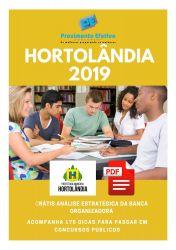 Apostila Técnico Segurança do Trabalho Prefeitura Hortolândia 2019