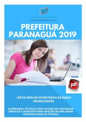 Apostila Médico Clínico Geral Prefeitura Paranaguá 2019
