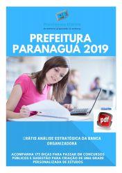 Apostila Nutricionista Prefeitura Paranaguá 2019