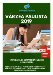 Apostila Dentista Prefeitura Várzea Paulista 2019