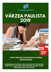 Apostila Nutricionista Prefeitura Várzea Paulista 2019